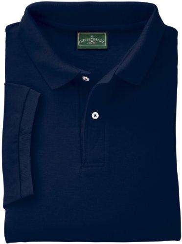 - Outer Banks Men's Essential Pique Polo, 2XL-NAVY