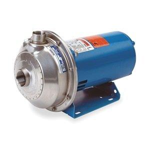 GOULDS PUMPS 2MS1H5A4 Centrifugal Pump, ANSI 316L Stainless Steel Housing Material, 3 Phase, 208V-230V/460V, 3 ()