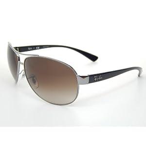 Ray Ban RB3386 004/13 Gunmetal/ Brown Gradient 67mm Sunglasses