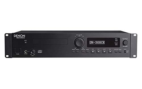 (Denon Professional Rackmount Professional CD recorder/Player with Rugged Tray Transport)