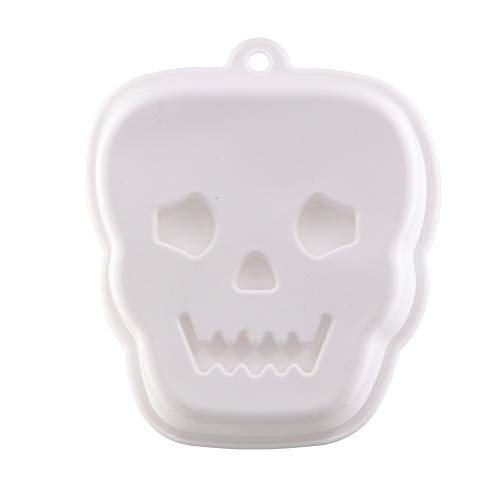 Halloween Silicone Mold Skull Cake Mold for Baking,