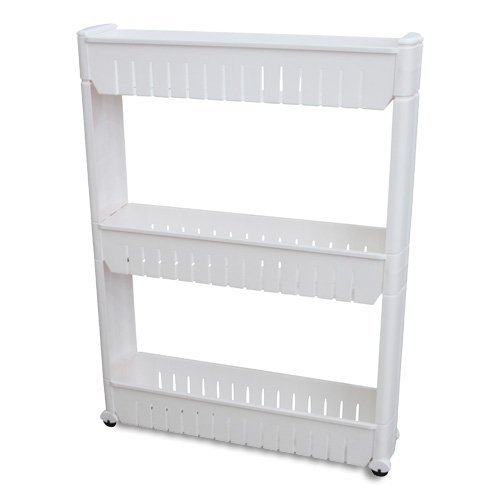 Laundry Room Accessories - Ideaworks JB6032 Slide Out Storage Tower