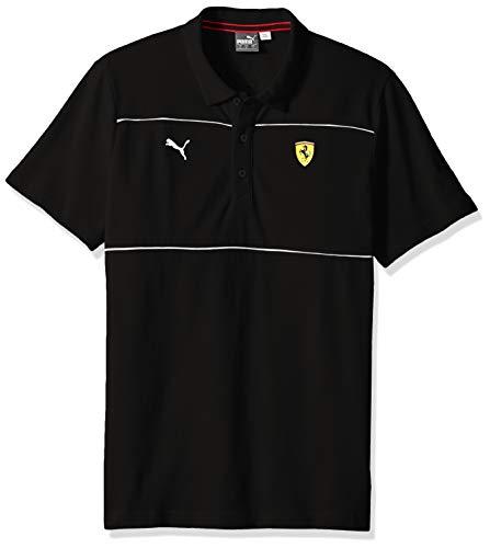 fcf0f8fd24 PUMA Men's Scuderia Ferrari Polo, Soft Pink Black, ...