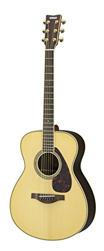 Yamaha L-Series LS6 Concert Size Acoustic-Electric Guitar – Rosewood, Natural