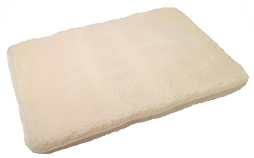 Fleece Crate Pad (Alphapooch Brute Unreal Lambskin, Natural.)