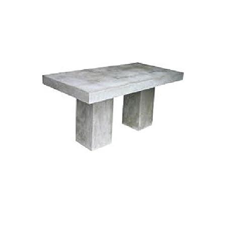 Tavoli Cemento Da Giardino.Strohschirm Manufaktur Massive Cemento Calcestruzzo Tavolo Da Pranzo