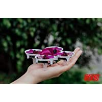 DYS ELF Ready-to-Fly 83mm Micro FPV Drone/Racer - Red