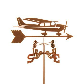 Garden Mount Weather Vane, Model 9340 - Cessna Airplane