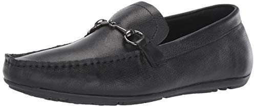 Bacco Bucci Men's Cayes Driving Style Loafer, Black, 8.5 D US