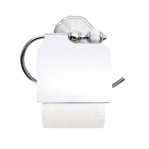 Modona 9955 A Toilet Paper Holder With Cover White