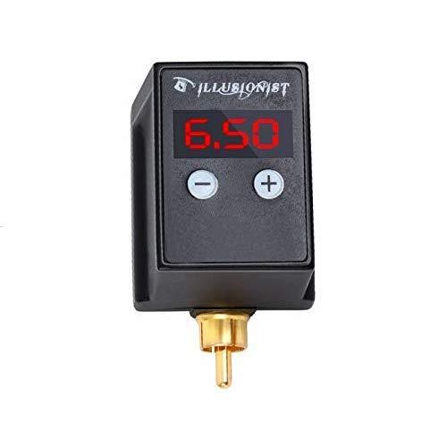 Tattoo Rechargeable  USB C Power Supply - Digital Display Tattoo Machine RCA Connector, Mini Tattoo Power Bank Supply for Rotary Tattoo Machines Pen (RCA)