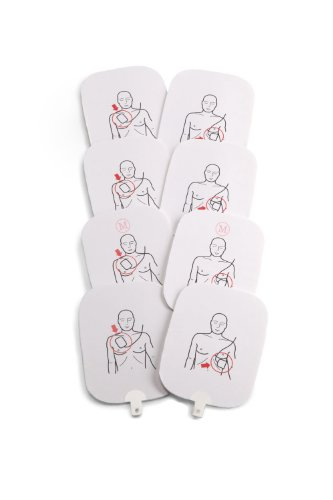 Prestan CPR AED Training Pads (Pack with 4 Sets) by Prestan Products