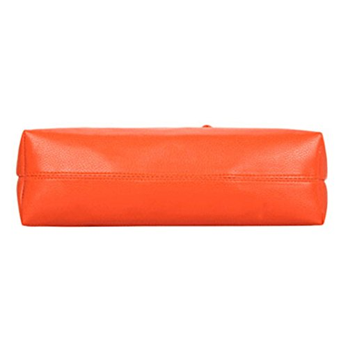 Cabas femme Pengyu Cabas Orange pour femme Pengyu pour q5Izww