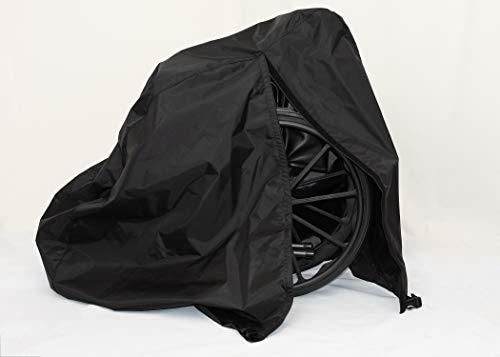 Diestco Manual Wheelchair Cover Accessory Durable Black Lightweight ()