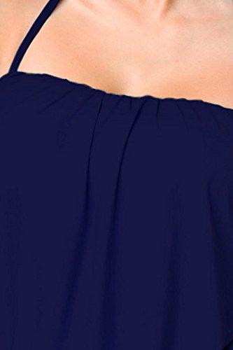De Angies Bain Bleu Foncé Deux Glamour Femme Maillot Fashion Pièces q4Bv4t