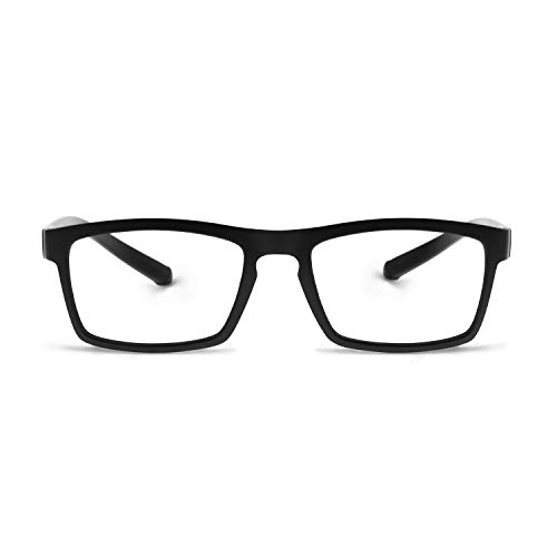 OCCI CHIARI Blue Light Blocking Glasses Readers TR90 Women Men Prescription Eyeglasses Computer Eyewear Gray