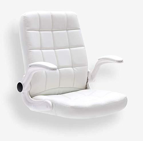 LFEWOZ nät svängbar fåtölj spelstol för kontor hem skrivbord, ergonomisk stil gaming stol racerhöjd justerbar verkställande kontorsstol dator Svart
