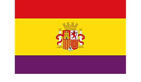 magFlags Bandera Large Española Republicana con Las Proporciones ...