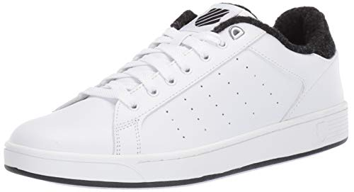 K-Swiss Men's Clean Court CMF Sneaker White/Caviar for sale  Delivered anywhere in USA