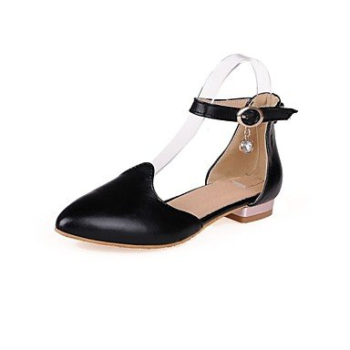 Zormey Women'S Shoes Low Heel/D'Orsay &Amp; Two-Piece/Pointed Toe Heels Office &Amp; Career/Dress Black/Pink/White US7.5 / EU38 / UK5.5 / CN38