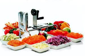 World Cuisine Rouet Spiral Vegetable Slicer [World Cuisine] by Paderno World Cuisine