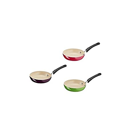 Conjunto de 6 sartenes para tortitas 12 cm Ceramic ...