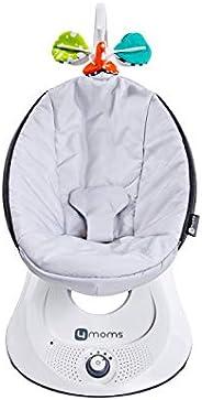 4moms rockaRoo – Columpio compacto para bebé con movimiento deslizante delantero a trasero