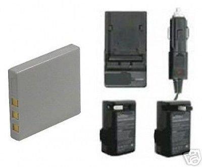 バッテリー+充電器for Sanyo NP - 40 np40 uf553436 , Sanyo vpce870   B01DNAASJ6
