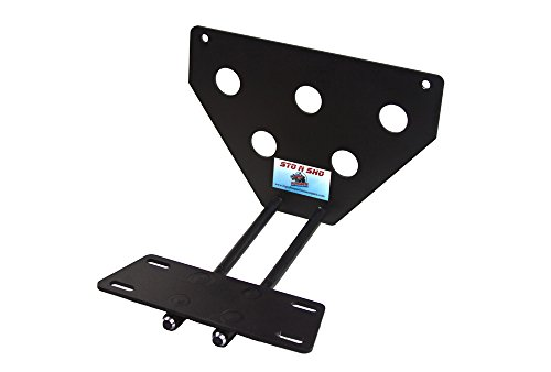 2013-2015 Jaguar XJ Quick Release Removable Front Take Off License Plate Bracket by StonSho