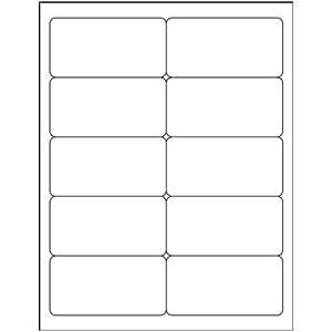 quill bulk pack inkjet address labels white. Black Bedroom Furniture Sets. Home Design Ideas