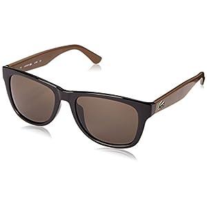Lacoste L734S Wayfarer Sunglasses, Black, 52 mm
