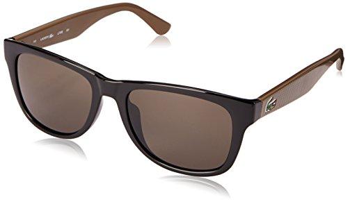 Lacoste L734S Wayfarer Sunglasses, Black, 52 ()