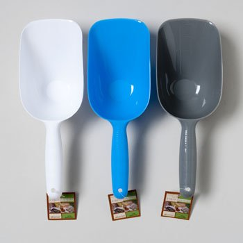 SCOOP JUMBO PLASTIC 7IN 3ASST COLOR KITCHEN HANGTAG, Case Pack of 24 by DollarItemDirect