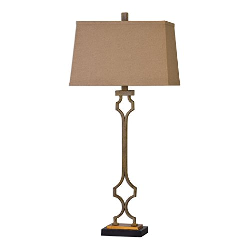 Uttermost Vincent Table Lamp (Leaf Transitional Forged)