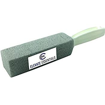 elevate essentials pumice stone scouring stick toilet bowl ring remover with handle. Black Bedroom Furniture Sets. Home Design Ideas