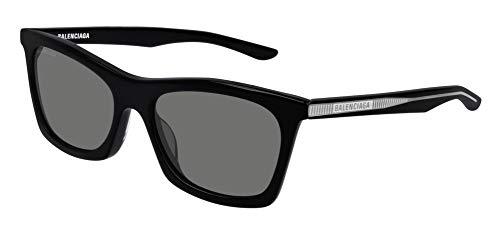 Balenciaga BB0006S Sunglasses 001 Black/Grey Lens 54 mm