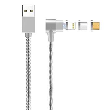 Cikuso Cable de Cargador de Datos para La Interfaz de Cable ...