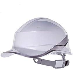 FH El Sitio Del Casco De Seguridad Engrosó El ABS, Seguro Del Trabajo Del Casco De Seguridad Masculino Conveniente Para La Dirección De La Construcción (Color : Blanco)