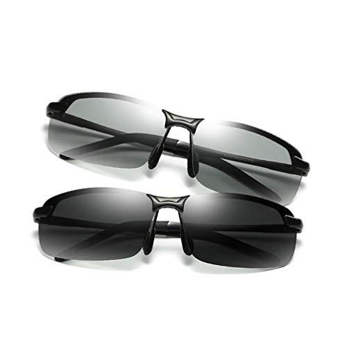 Y Clima Sol Color De Polarizadas Comprar Conducción Uno Obtener De UV Gafas Cambio Gafas Gratis Gafas para Sol De Nota UV De Todo Sol Gafas De para black Black De Gafas Uno Color Hombres nTwAx4