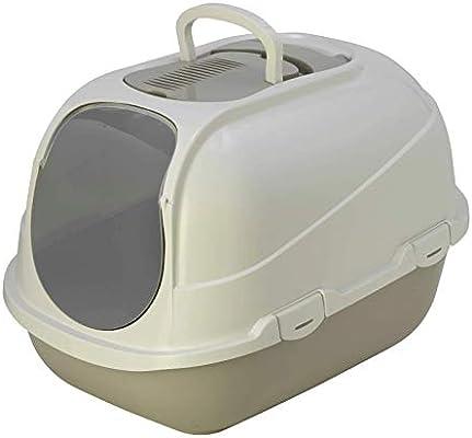 Amazon.com: Moderna Mega cómoda caja de arena para gatos ...