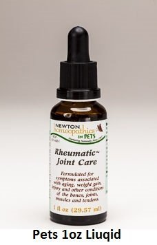 Newton Labs Homeopathics Remedy Pets Rheumatic Joint Care 1oz Liquid