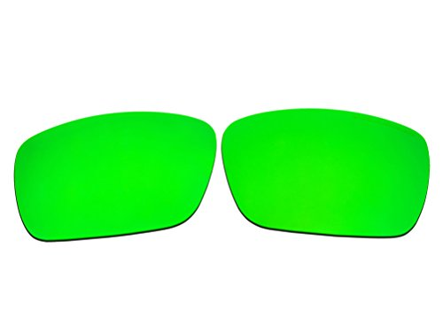 Polarized Replacement Sunglasses Lenses for Oakley Fuel Cell with UV Protection(Emerald Green Mirror) by C.D