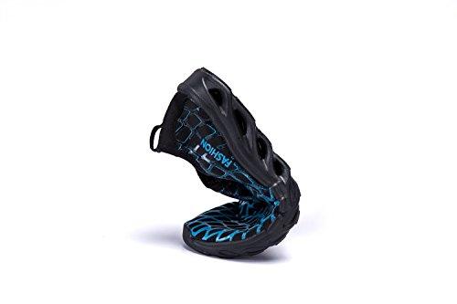 Lekuni Waterschoenen Voor Dames Heren Opgewaardeerde Multifunctionele Sneldrogende Aquaschoenen Blauw