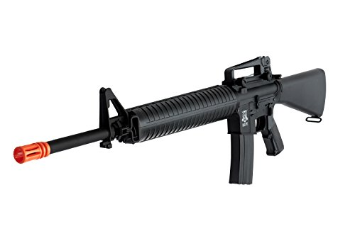 Black Ops M16 Vietnam War Edition AEG Air Rifle - Full Metal Gearbox - Shoot .12g BBs (Target Halloween 90 2017)