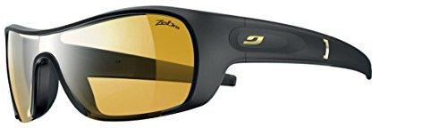 Julbo Women's Groovy Performance Sunglasses, Zebra Lens, Black by Julbo