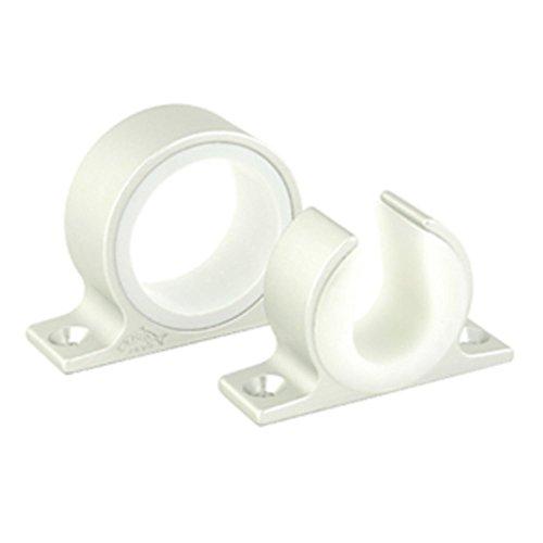 Lees Single Rod Rack Set - Satin Silver Finish - 1 Year Direct Manufacturer Warranty (Lees Rod Rack Single)
