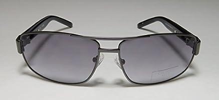 Gunmetal//Grey Gradient Guess Men GU6714 Aviator Fashion Sunglasses