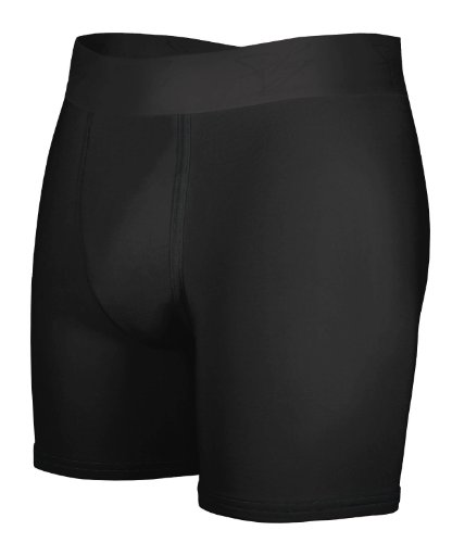 MyPakage Men's Weekend Boxer Brief (Black/Black, XX-Large (42-44) )