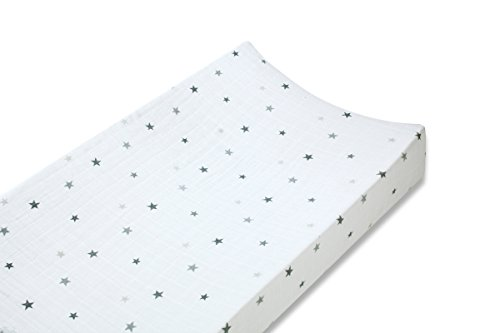 Amazon.com: aden + anais Twinkle Changing Mat Cover: Health ...