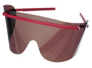 Metrex GTDLR25-T Googles Eye Shields Tinted Lenses (Pack of 25)